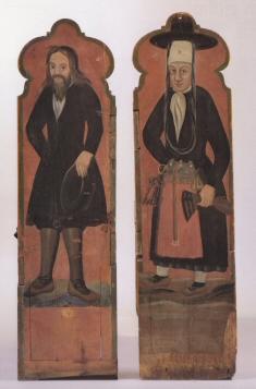 Hjón � Tálknafirði um 1700