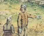 Tv�þumla vettlingur 1772