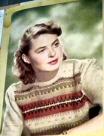 Ingrid Bergman � Bohus-peysu