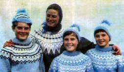Ingrid Bergman � eskimo peysu