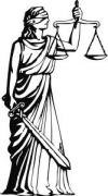 Justitia, gyðja réttlætisins