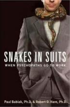 Snakes in Suit eftir Babiak og Hare