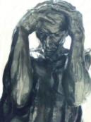 Borgari � Calais eftir Rodin