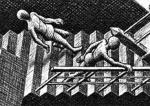 Stigaganga � verki Escher