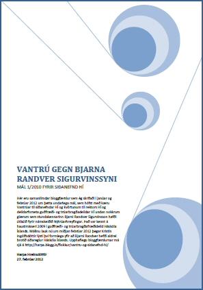 Vantrú gegn Bjarna Randver pdf-skjal