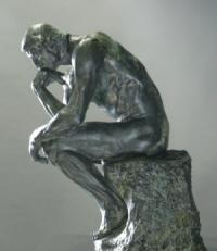 Hugsuðurinn eftir Rodin